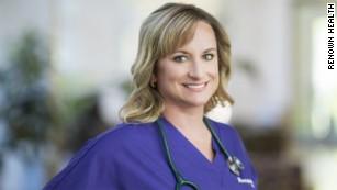 Jessica Thompson, registered nurse