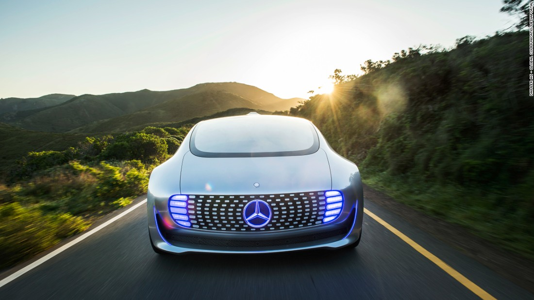 The F 015 has concept-car looks -- and it's unlikely to appear in showrooms any time soon -- but Mercedes has used it as a research project to gain valuable insight into future trends.