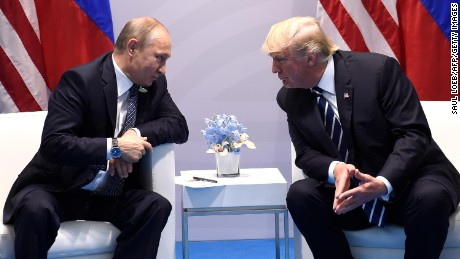 Trump 'thankful' Putin expelled hundreds of US diplomats