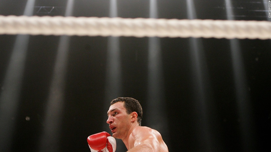 Klitschko fought 69 times professionally in a career spanning over two decades. He lost on just five occasions.