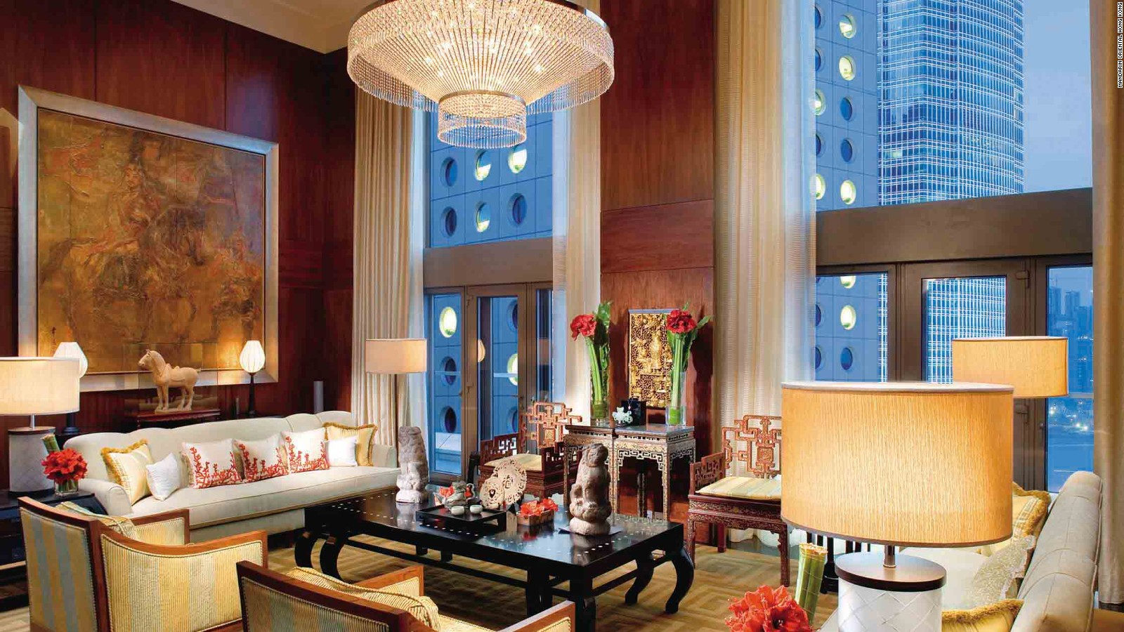 Hong Kong Luxury Suites Over The Top Hotel Opulence