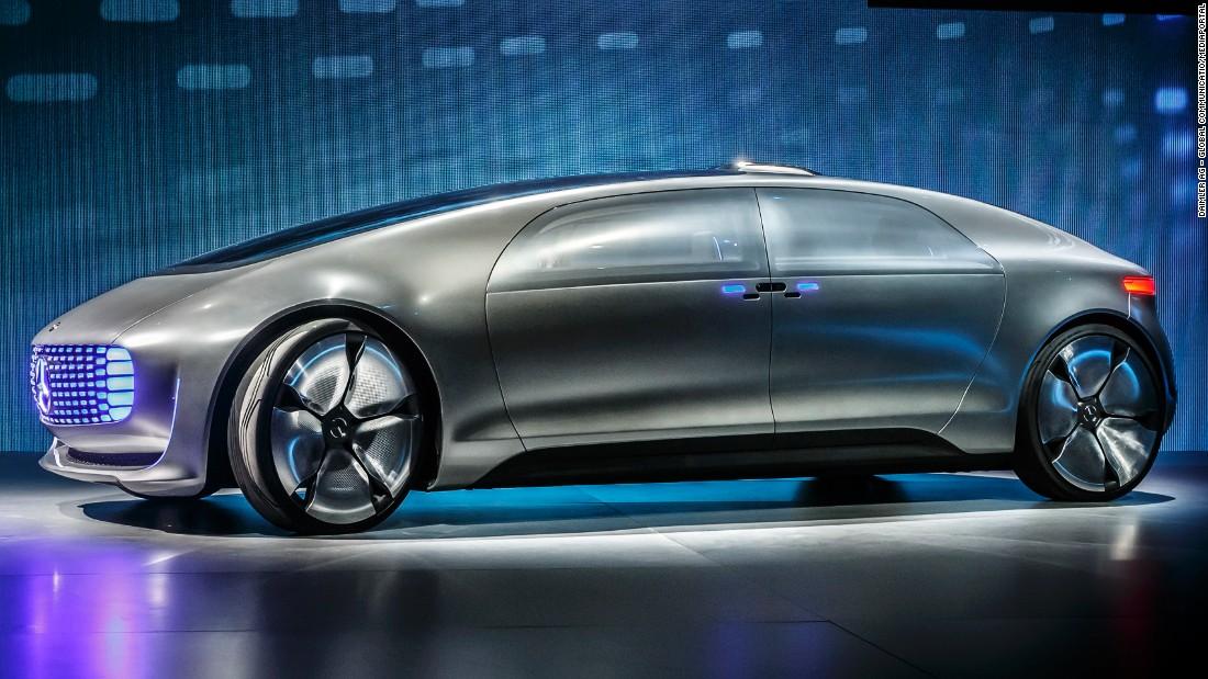 A ride in Mercedes' self-driving car
