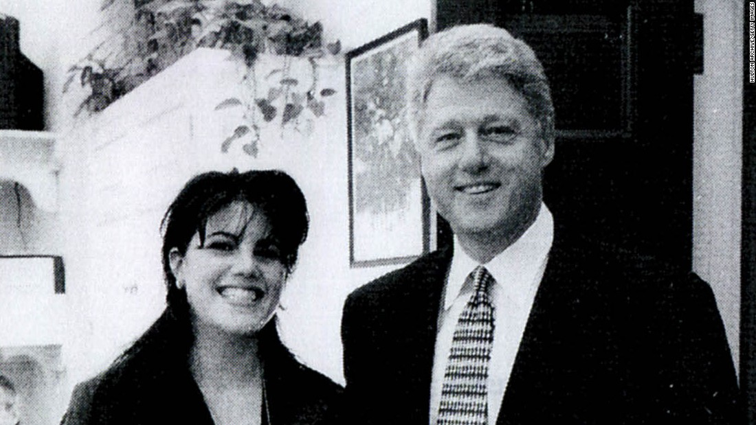 Clinton's Lewinsky scandal underlines grand jury's threat to Trump