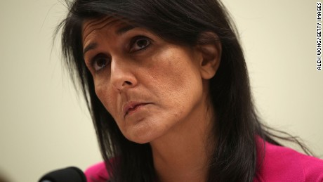 Nikki Haley to staff on Charlottesville: 'We must denounce them at every turn'