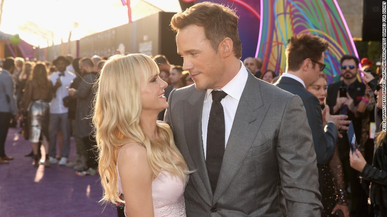Chris Pratt, Anna Faris announce separation