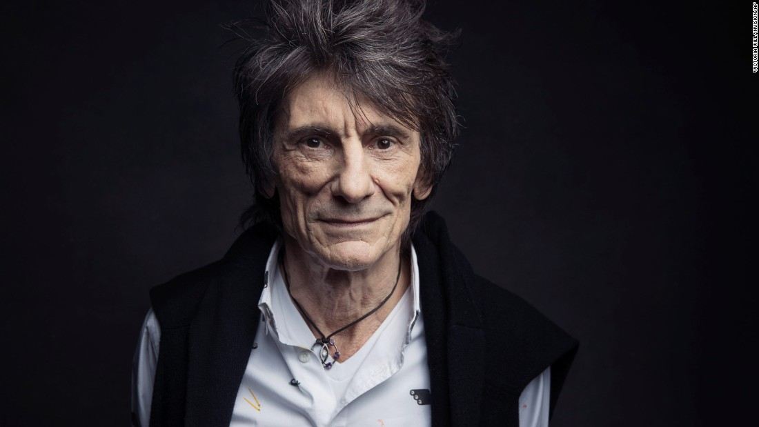 "Rolling Stones guitarist Ronnie Wood revealed in August that he had been diagnosed with lung cancer three months earlier. Wood, who chain smoked for 50 years, <a href=""https://twitter.com/ronniewood/status/894254546314297344"" target=""_blank"">tweeted</a> that he is fine now after surgery and ready to head on tour with his band."