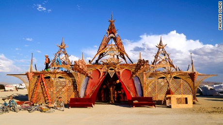 Black Rock City, NV  The new ephemeral architecture of Burning Man