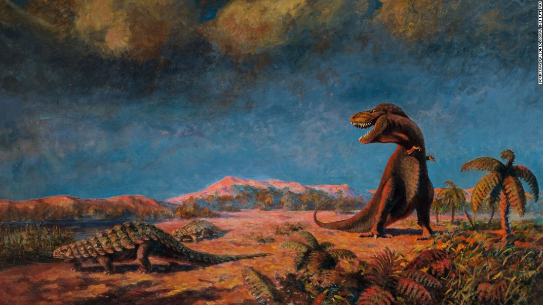 Flyorov, a Russian scientist and museum director, reveled in color above all else. His paintings are among the most dazzling and unusual in the paleoart canon.