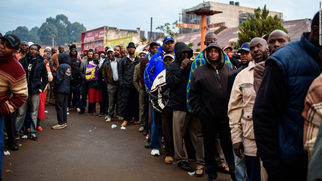 Kenya election: Voters endured long lines, now wait patiently for results