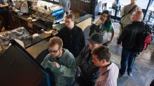 The first ever Bitcoin ATM was installed at Vancouver's Waves Coffee House in 2013.