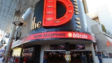 In 2014, the Golden Gate Hotel & Casino and The D Las Vegas started to accept Bitcoin everywhere except on the gambling floors, where hard currency still dominates.