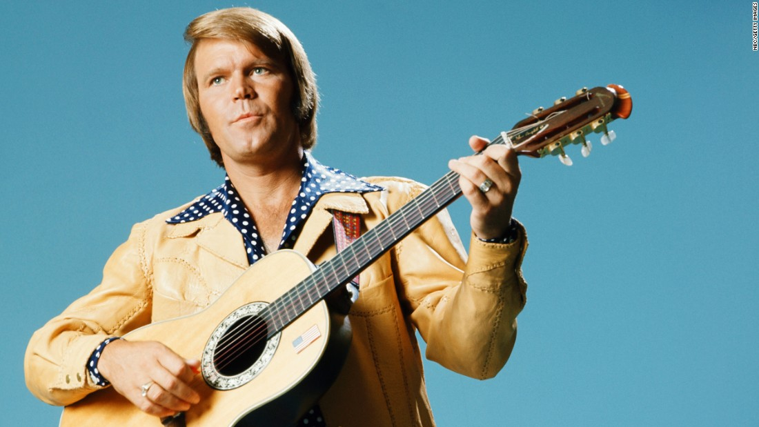 "<a href=""http://www.cnn.com/2017/08/08/entertainment/glen-campbell-dies/index.html"" target=""_blank"">Glen Campbell</a>, the upbeat guitarist from Delight, Arkansas, whose smooth vocals and down-home manner made him a mainstay of music and television for decades, died August 8 after a lengthy battle with Alzheimer's disease, his family announced on Facebook. The six-time Grammy Award winner was 81."