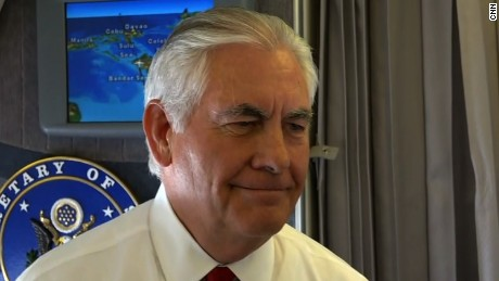Tillerson on N. Korea: Americans can sleep well
