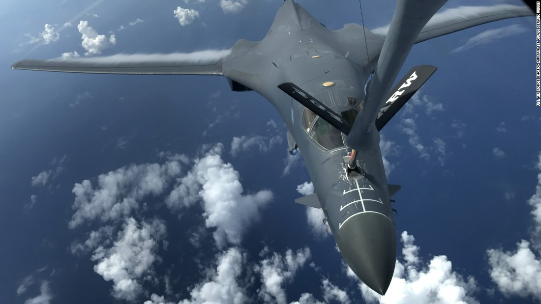US B-1 bombers ready if called upon by Trump