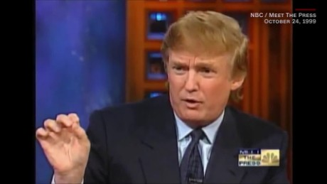 Trump on NK in 1999: 'Solve the problem now""