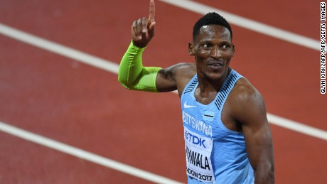 Makwala qualifies for men's 200m final