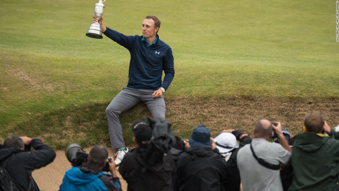 This comes off the back of holding his nerve during a wayward final round at Royal Birkdale to win The Open for the first time this July.