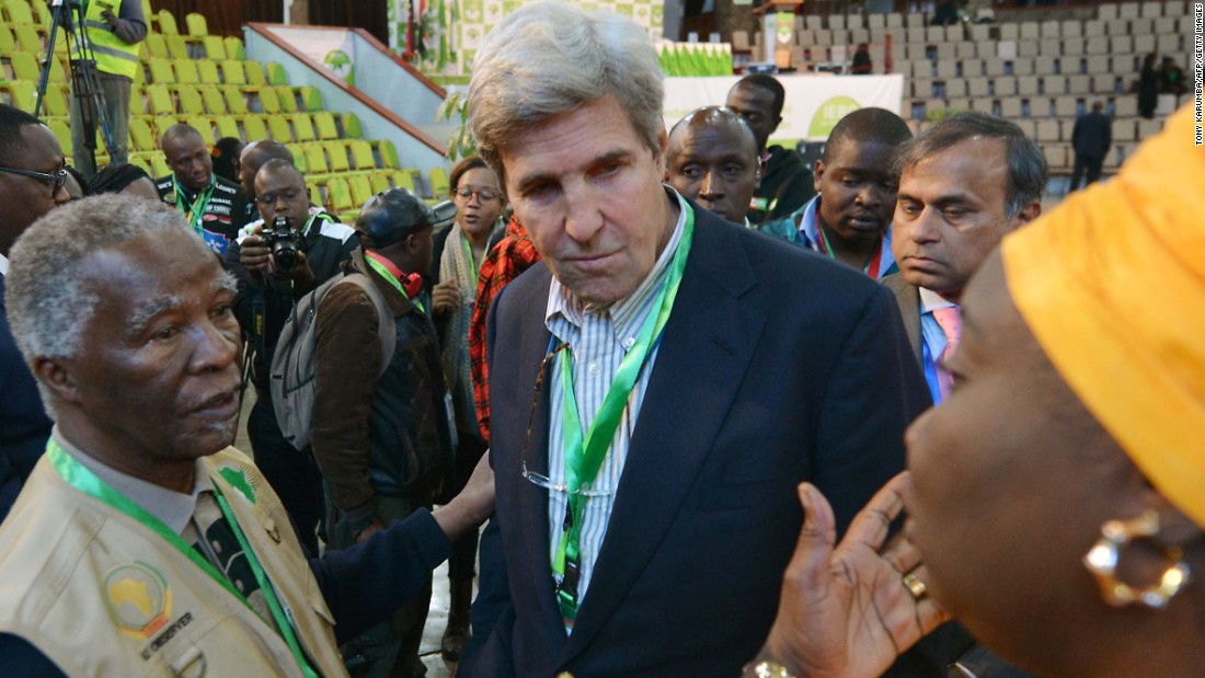 Kenyan challenger claims election was hacked, but John Kerry disagrees