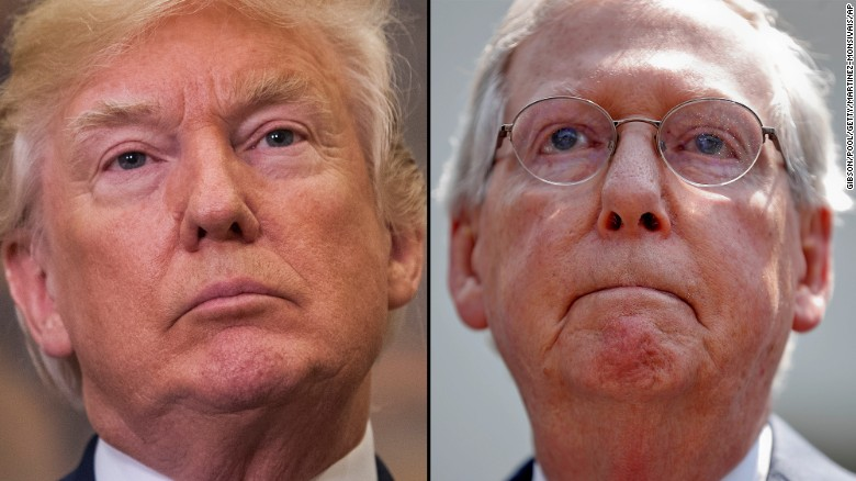 Trump: 'Ask me later' if McConnell should step down