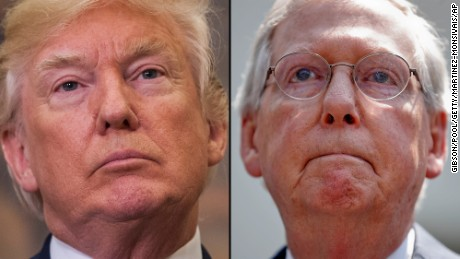 Source: McConnell upset at Trump over latest Charlottesville comments