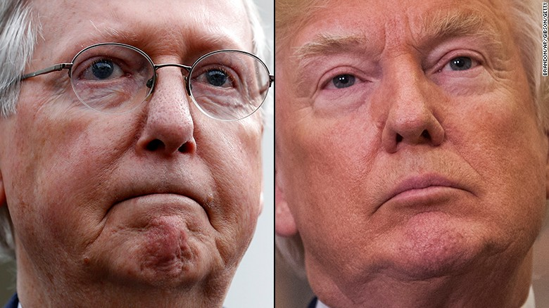 Trump resumes public feud with McConnell