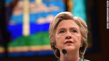 How faith led Hillary Clinton 'out of the woods'