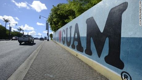 Guam has been a US territory for more than 100 years