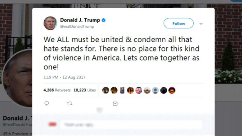 Trump S Tweet Response To Car Crash