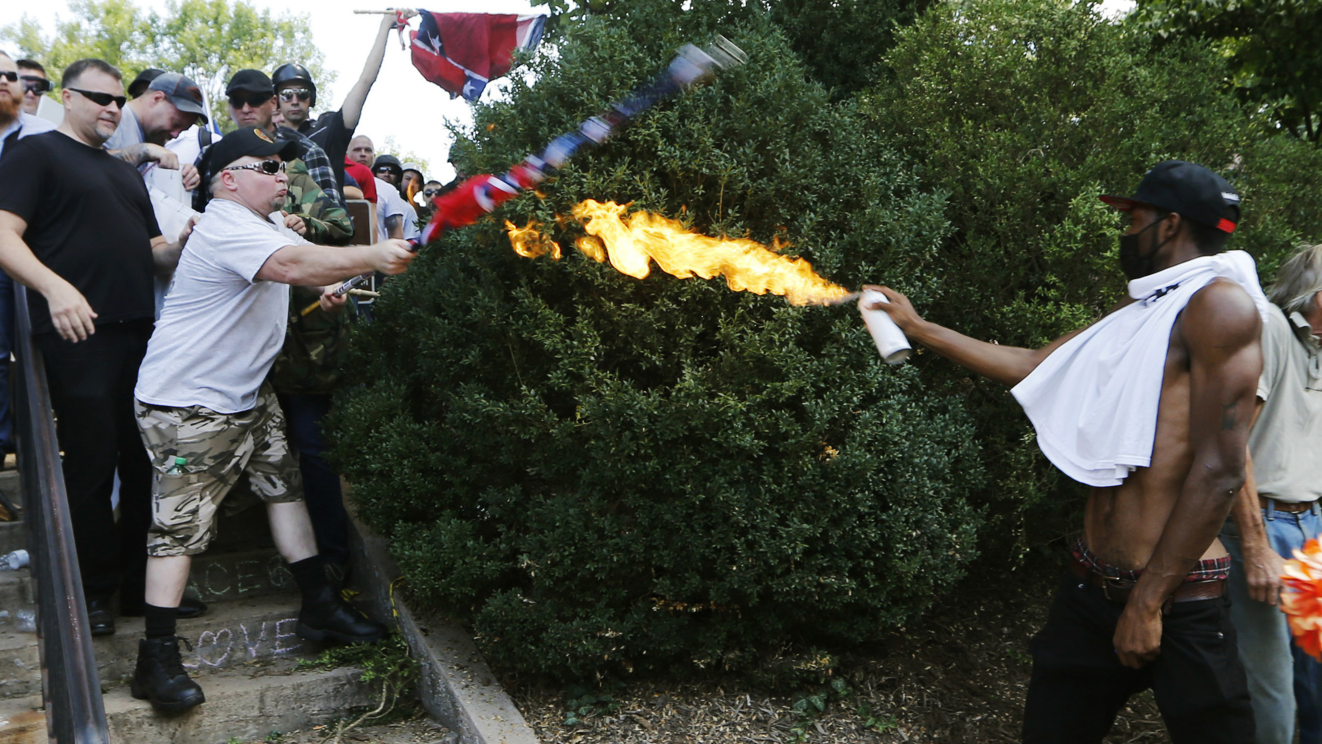 Charlottesville White Nationalist Rally What We Know CNN - A map of us after white supremcists take over