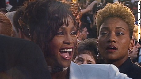 Whitney Houston, Robyn Crawford in 'Whitney. Can I Be Me'