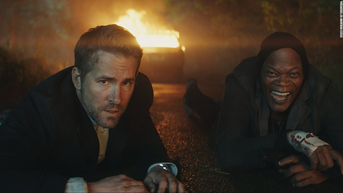'Hitman's Bodyguard' mostly fires blanks