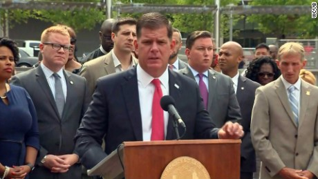 Boston Mayor Martin Walsh says his city is prepared should violence break out at Saturday's rally.