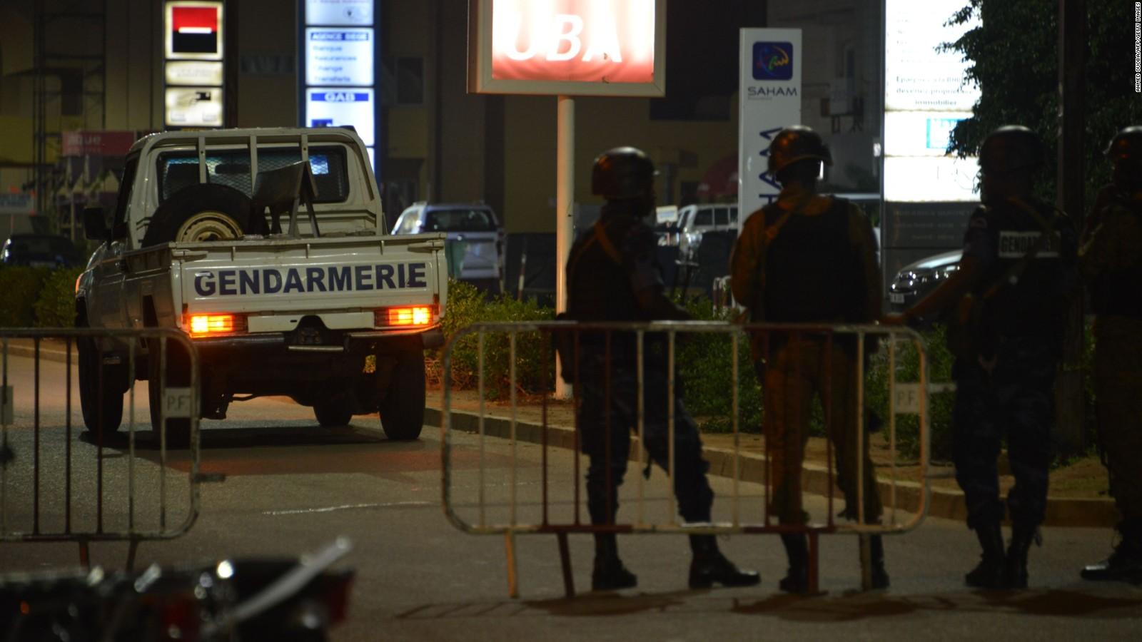 burkina faso attack: at least 18 killed in restaurant - cnn