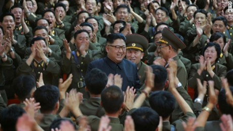 Kim Jong Un inspecting KPA Strategic Force Command on August 14th.