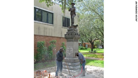 "The statue of  ""Old Joe"" in Gainesville, Florida."
