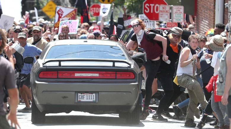 Cnn Car Crash Into Protest Virginia