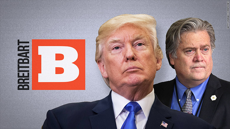 Trump supports Bannon in Breitbart News, says 'fake news needs competition'
