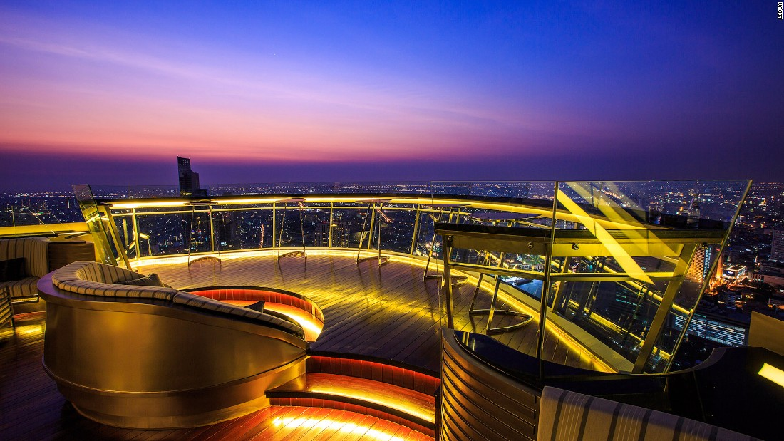 In Bangkok, the world's highest outdoor whisky bar