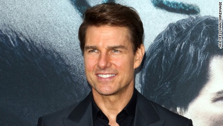 "Actor/producer Tom Cruise attends ""The Mummy"" New York fan event at AMC Loews Lincoln Square on June 6, 2017 in New York City."