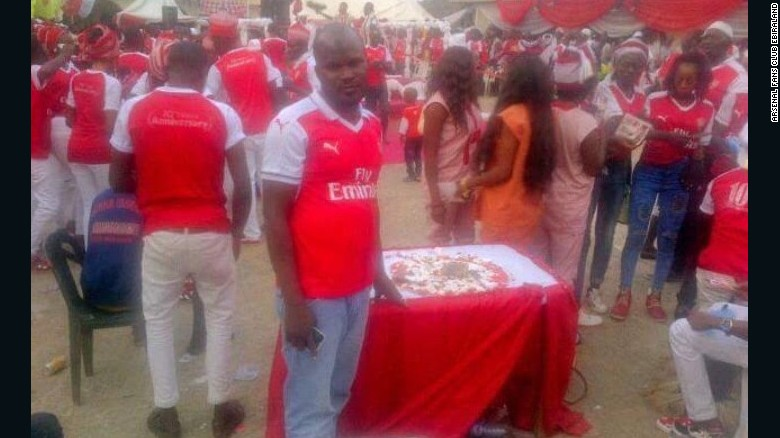 Arsenal Day in Kogi state, Nigeria has been running for a decade.
