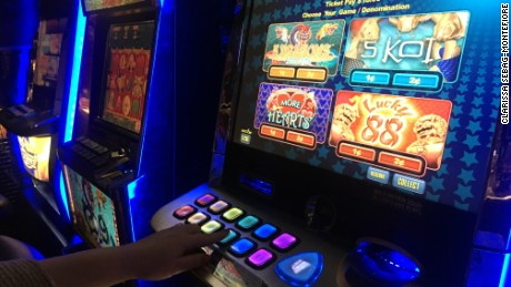 Slot machines, or pokies, are a common sight in Australian pubs and social clubs.