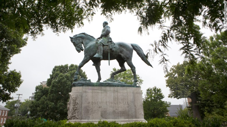Trump: Removal of Confederate statues is sad