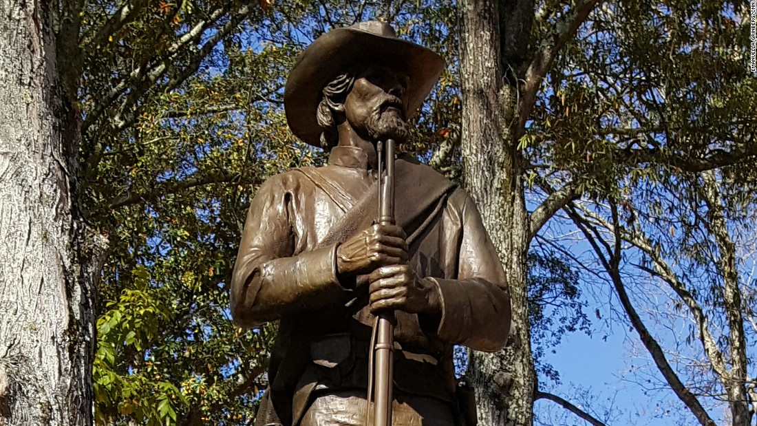 New Confederate monuments are going up, too