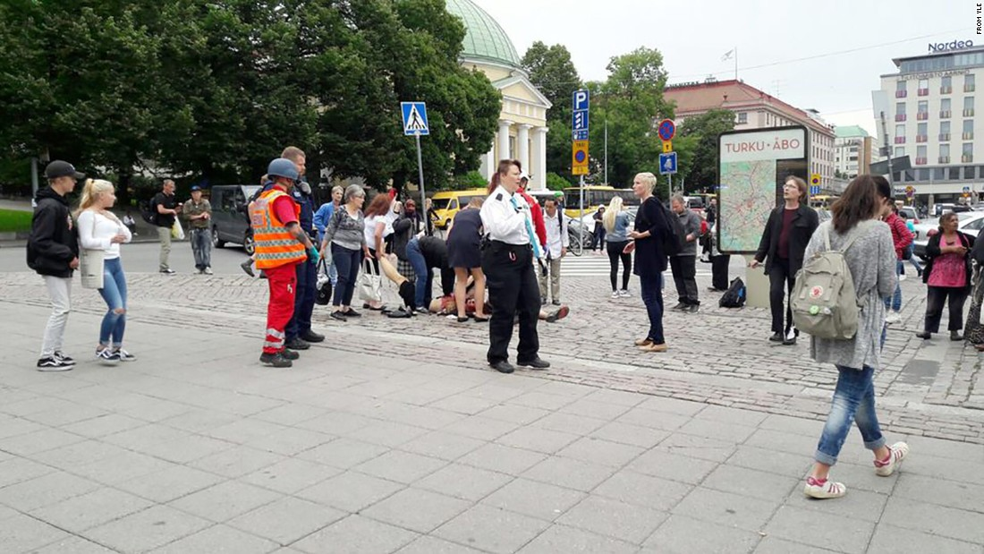 Finland: Several people stabbed in Turku, police say