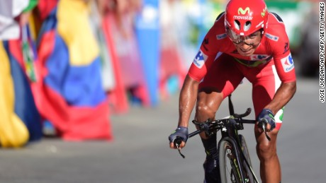 Nairo Quintana won the 2016 Vuelta a Espana. The Colombian will miss this year's event as he takes a break from cycling.