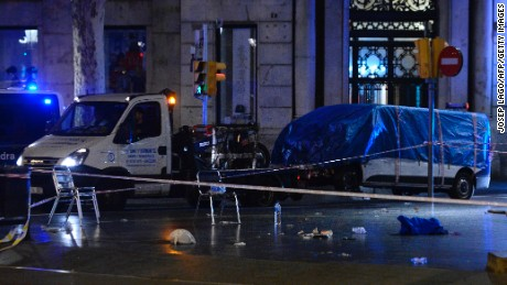 Potential van bomb triggers concert shutdown in Europe