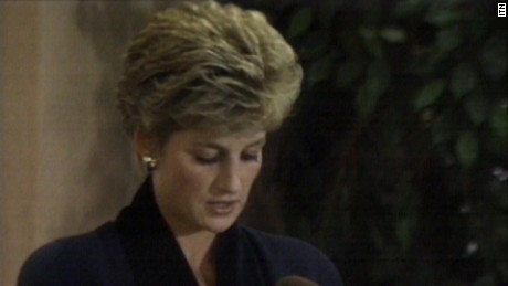 1993: Princess Diana reduces public role