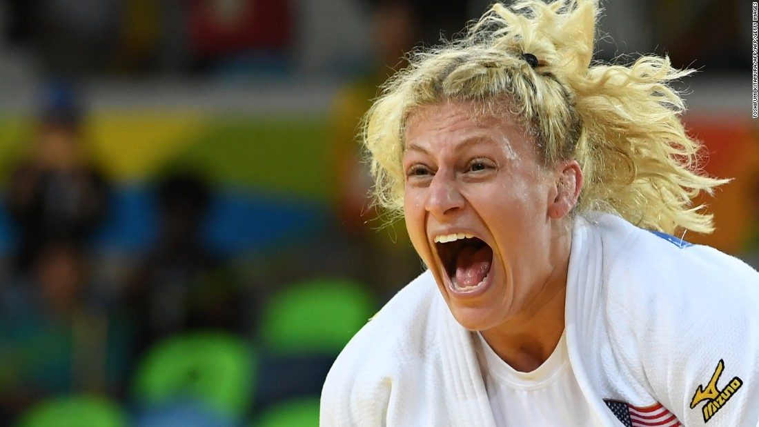 Kayla Harrison on depression, suicidal thoughts and being saved by her sport