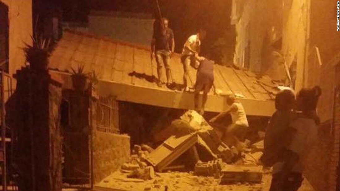 Baby pulled alive from rubble after deadly Italian earthquake
