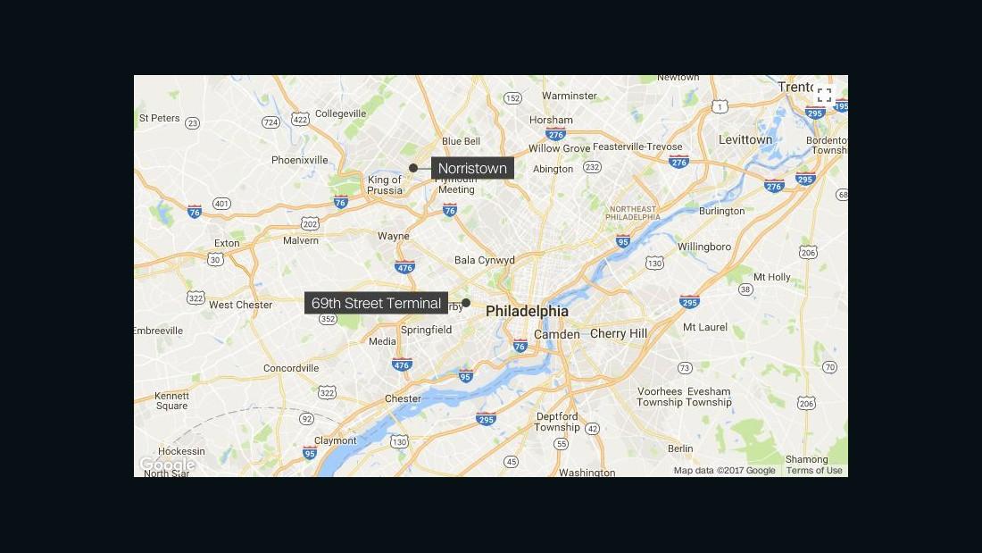 Dozens injured in high-speed train incident outside Philadelphia